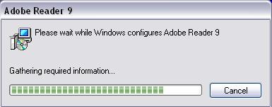 Adobe Acrobat Reader 9 Silent Install