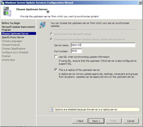 How to move WSUS 3 0 to a new server