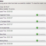 First Look at Exchange Server 2010 Installation
