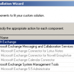 Remove the Last Exchange 2003 Server from the Organization