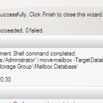 Moving Mailboxes from Exchange 2003 to Exchange Server 2007