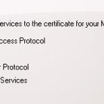 Configure an SSL Certificate for Exchange Server 2010