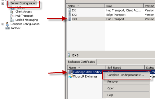 How to issue a san certificate to exchange 2010 from a private ca browse yadclub Gallery