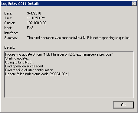 NLB Cluster Fails with Status Code 0x8004100a on Hyper-V Guest