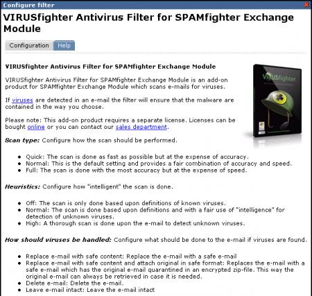 SPAMfighter has detailed help documentation built in