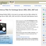 Exchange Server AntiSpam: Review of SPAMFighter Exchange Module for Exchange Server 2010