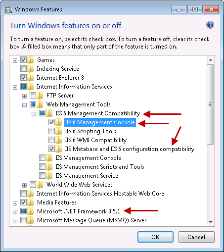Active directory management support tools windows 7 tcp port windows update