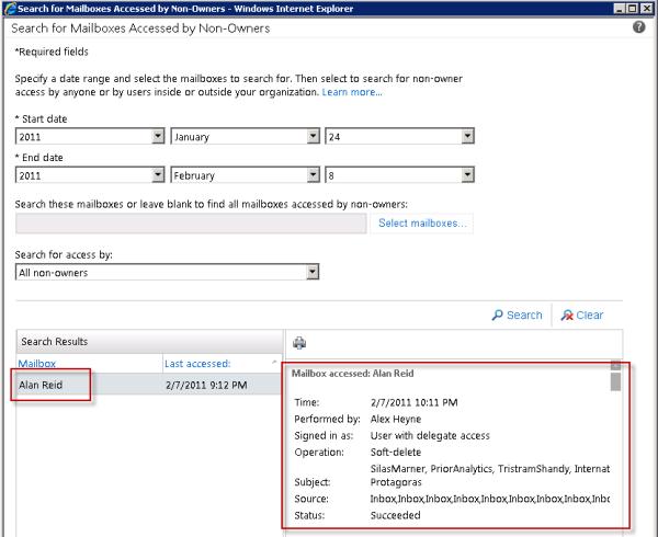 Exchange Server 2010 Mailbox Audit Logging Guide