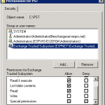 How to Export Mailboxes with Exchange Server 2010 SP1