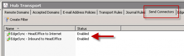 Exchange 2010 Edge Transport Server: Configuring EdgeSync