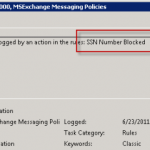 Exchange 2007/2010 Transport Rule Logging
