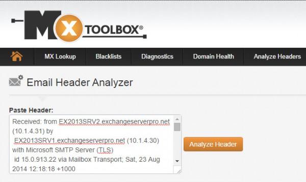 mxtoolbox-header-analyzer