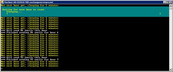 Start-MailGen.ps1 running
