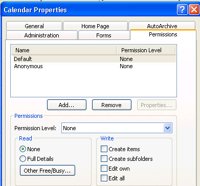 Show Full Free/Busy Details for Exchange 2010 Room/Resource Mailboxes