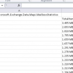 PowerShell Tip: Get a List of the Top Exchange Server Mailboxes by Size