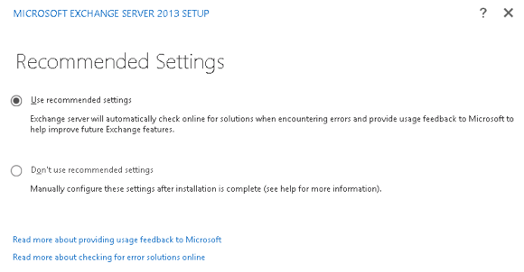 How to Install Exchange Server 2013