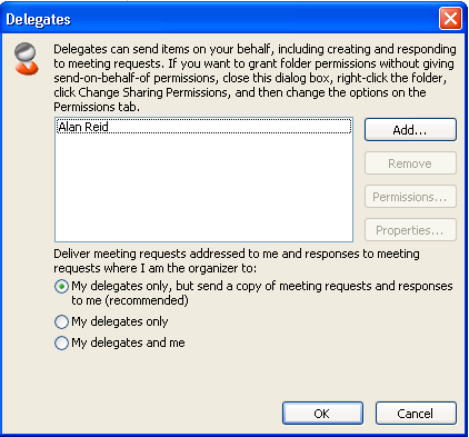 Exchange Server: Deleted Delegates Still Receive Meeting Invites