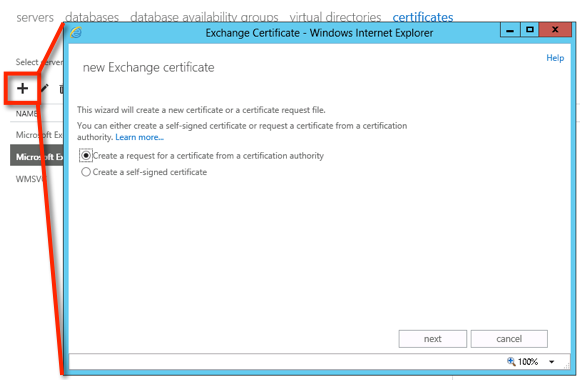 Exchange 2013 create an ssl certificate request start yadclub Gallery