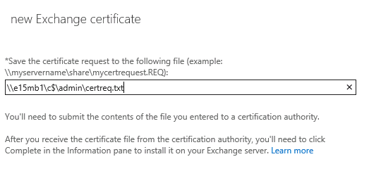 Exchange 2013 create an ssl certificate request choose yelopaper