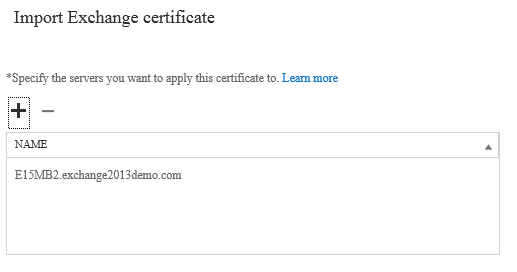 Exchange 2013 exportimport ssl certificates to multiple servers select yelopaper