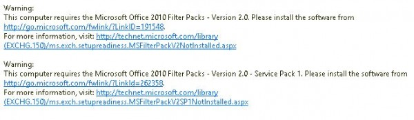 Exchange server 2013 faq is the office filter pack required - Office filter pack for exchange 2010 ...