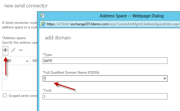Configuring Outbound Mail Flow in Exchange Server 2013
