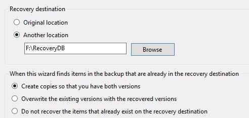 exchange 2013 recovery database 06 practical 365