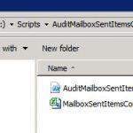 PowerShell Script: Audit Mailbox Sent Items Configurations