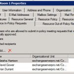 Output a List of In-Policy Users for a Resource Mailbox Using PowerShell