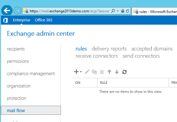 Block External Emails for an Exchange Server 2013 Mailbox