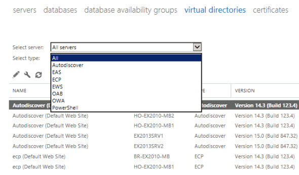 Exchange 2010 to 2013 Migration – Configuring Client Access Servers