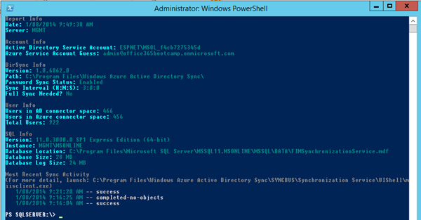 Azure Ad Connect Sync Powershell