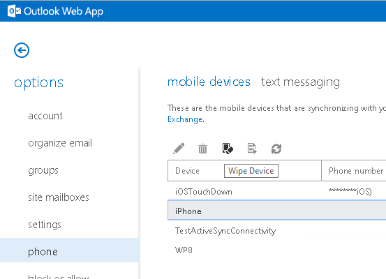 Disable Mobile Device Management by End Users