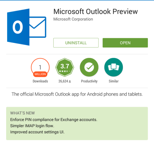 outlook-android-update-pin-policies