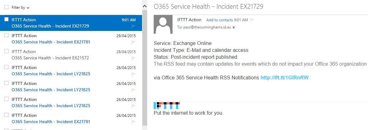 o365-health-ifttt