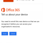 Office 365 Mobile Device Management – Managing Device Policies