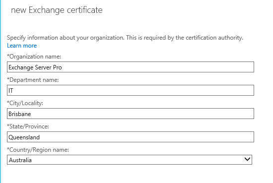 Generate a certificate request for exchange 2016 exchange 2016 certificate request 09 yadclub