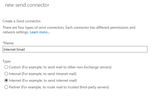 Exchange Server 2016 Outbound Mail Flow