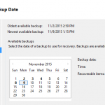 Restoring Exchange Server 2016 Mailboxes and Items Using a Recovery Database