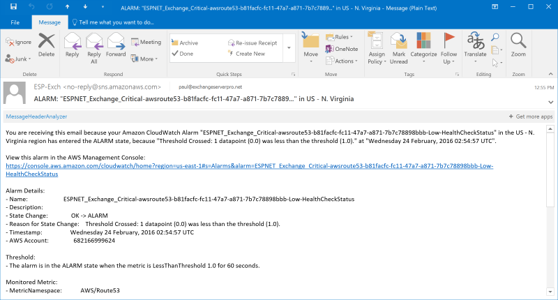 Powershell connect exchange server