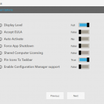 Creating an Office 365 Client Application Installer Using the Installation Toolkit