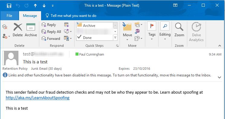 This Sender Failed Our Fraud Detection Checks