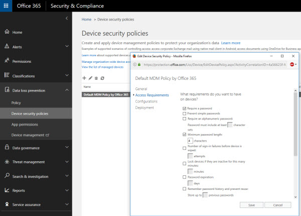 Comparing Office 365 Mobile Device Management Solutions