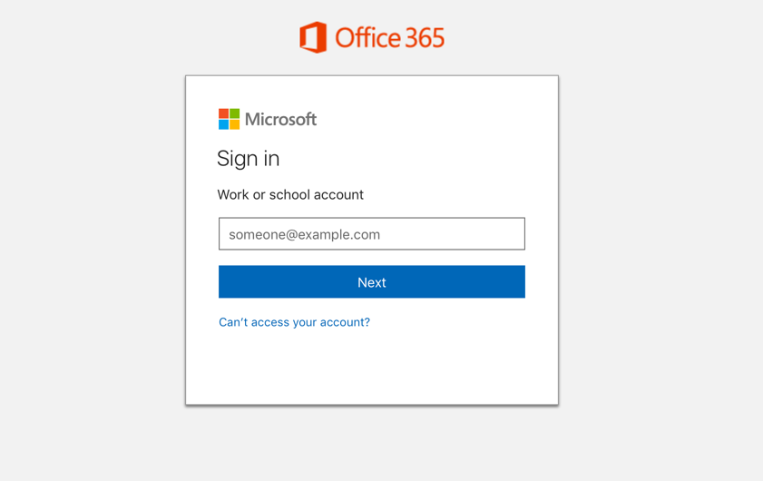 surprise new office 365 sign in experience for end users