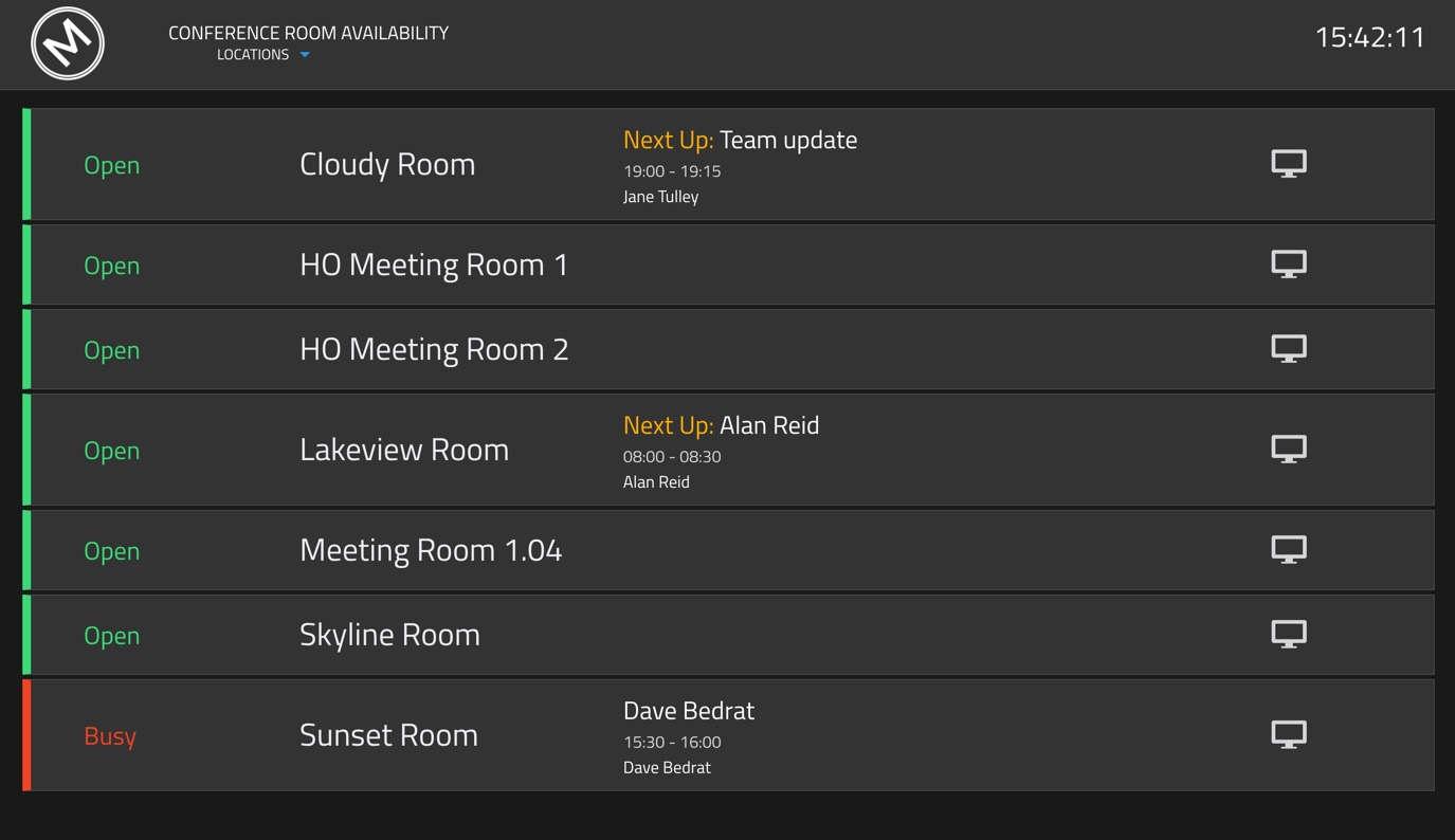 MeetEasier Helps Your Users Find Available Meeting Rooms