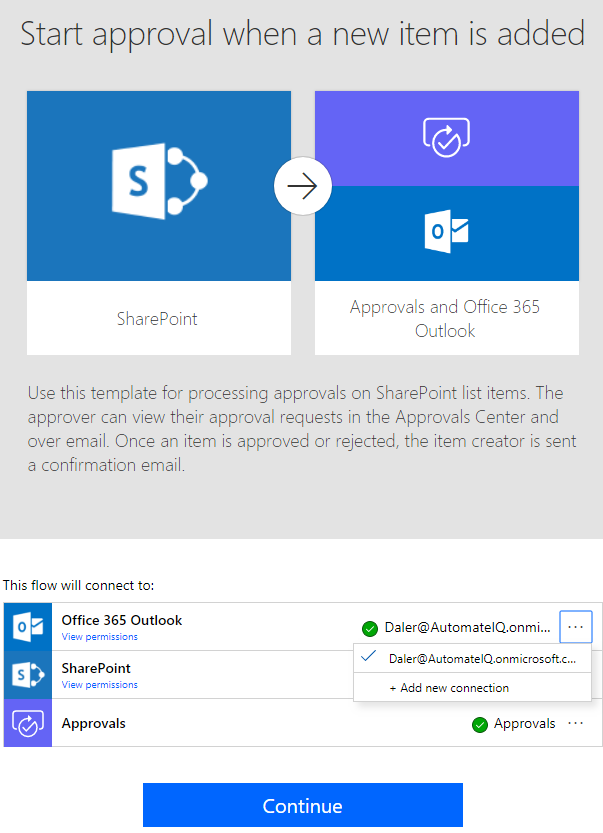 Automating Office 365 Account Creation Using SharePoint Online, Flow ...