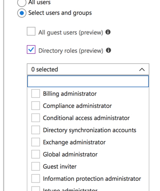 Enforcing Multi-Factor Authentication for Office 365 Global