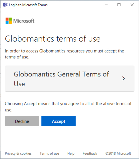 Terms Of Use >> Configuring Terms Of Use For Office 365 And Azure Active Directory
