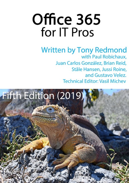 Office 365 for IT Pros ebook cover