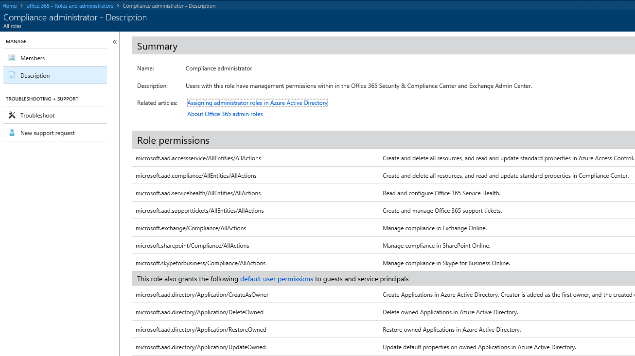 License Admin Role and Other Improvements in Azure AD